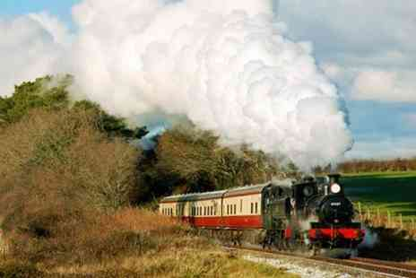 Bodmin & Wenford Railway -  Train Pass For Two or Family - Save 50%