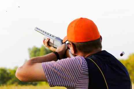 A N Shooting Services - Clay Pigeon Shooting For One  - Save 66%