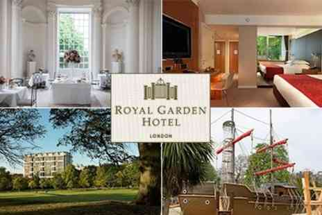 Royal Garden Hotel - Two  night stay at Royal Garden Hotel Including Kids Dinner and Breakfast for all - Save 46%