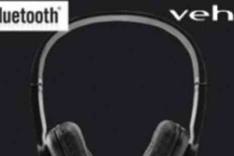 Veho - Wireless High End Bluetooth Foldable Headphones Compatible - Save 60%