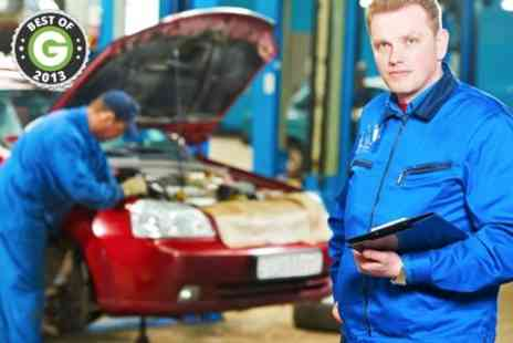Hilltop Garage Horndean - Full Car Service With Oil Change and Wash - Save 51%