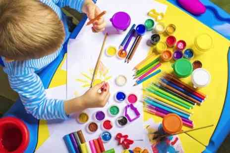 The Textile Workshop - Kids Art or Baking Class For One - Save 70%