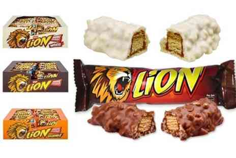 Premium Brands 4 Less -  40 Nestle Lion Bars With Choice of Flavours - Save 36%