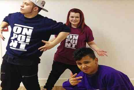 On Point Dance Studio - Street Dance Birthday for Ten Children - Save 60%