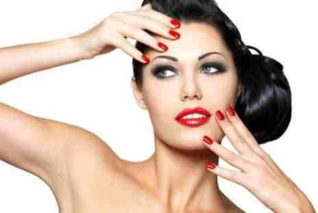 The Face and Body Clinic - Gelish Mani or Pedi - Save 60%