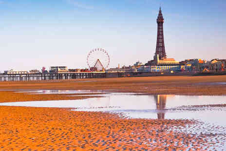 Puma Imperial Hotel - Cosy Seaside Charm and Bright Lights of Blackpool - Save 55%