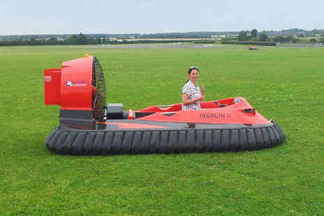 Hoverlimits - Five Hovercraft Laps on a Weekend - Save 63%