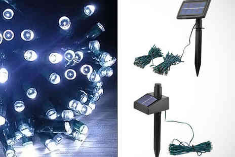 SimplyLive - String of  Solar Powered Fairy Lights - Save 54%