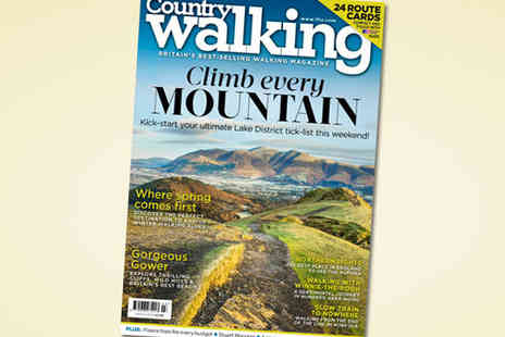 Country Walking Magazine - Six Issue Subscription to Country Walking Magazine - Save 50%
