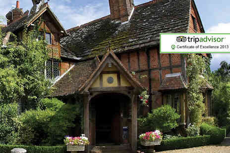 Langshott Manor - One night break for 2 including breakfast - Save 44%