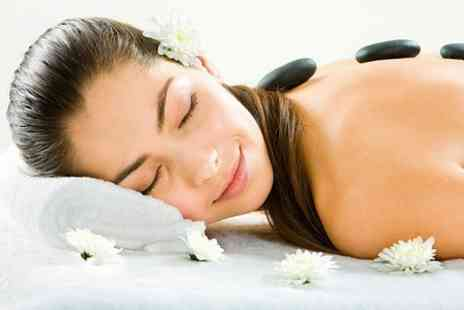 Flawless Spa & Salon - Hot Stone Full Body Massage  - Save 50%