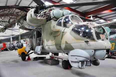 The Helicopter Museum - Entry for two adults plus pot of tea - Save 59%