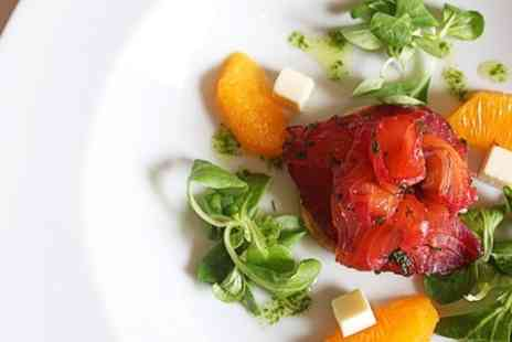 The Design House - Five Course Tasting Menu Lunch For Two - Save 50%