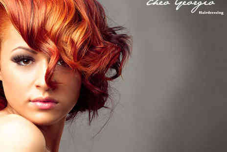 Theo Georgio - Haircut Blow Dry and Conditioning Treatment  - Save 65%