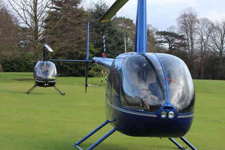 Northumbria Helicopters - Six Mile Helicopter Buzz Flight - Save 50%