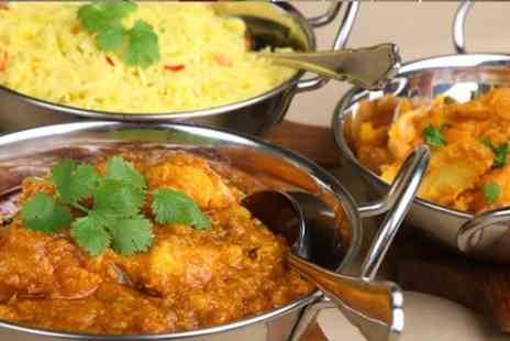 Spicy Kalkata Club - Two Course Indian Meal With Wine - Save 52%