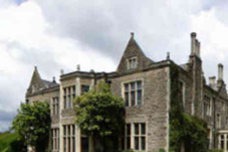 Miskin Manor Hotel - Two night stay for two including breakfast and wine when you dine - Save 70%