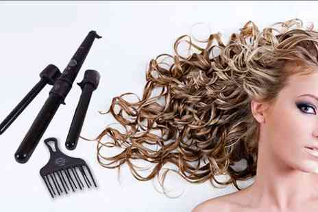 H2D Ltd - Three in one curling wand - Save 63%