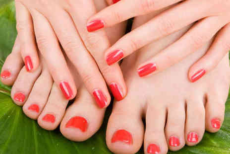Facelook Beauty - Shellac Manicure or Pedicure - Save 55%