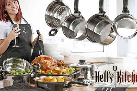 IROF Designs - amazing Hells Kitchen Collection with roasting tray and utensils  - Save 60%