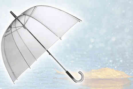 Flutterby Glam -  Wonderful dome shaped umbrella  - Save 61%
