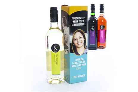 Snapajack - Choice of Personalised Boxed Wines - Save 20%