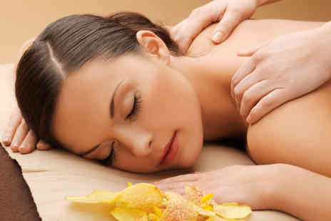 Just Relax Therapies - 30 minute neck back and shoulder massage plus a 30 minute leg and foot massage - Save 75%