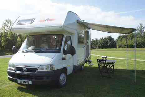 AVMO Avante - Three night motor home hire for up to 4 people - Save 50%