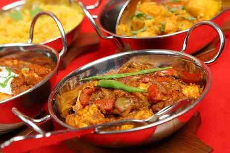 Ashiana - Two course Indian meal for two - Save 72%