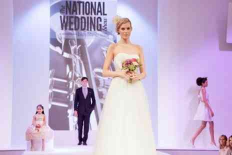 National Wedding Show - Over 250 wedding specialists including cakes, flowers, jewellery and bridalwear  - Save 31%
