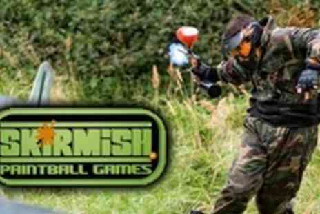 Paint Ball UK - Paintball Experience For Two With 100 Paintballs - Save 89%
