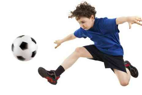 wolverhampton sports arena - Indoor Football Party For Ten Kids With Soft Play and Meal - Save 56%