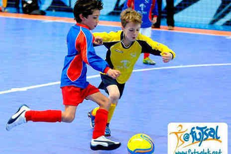 Futsal Arena - Two Hour Football Party Package for 16 Children Including Invitations Birthday Cake Party Food Coaching and Use of Equipment - Save 59%