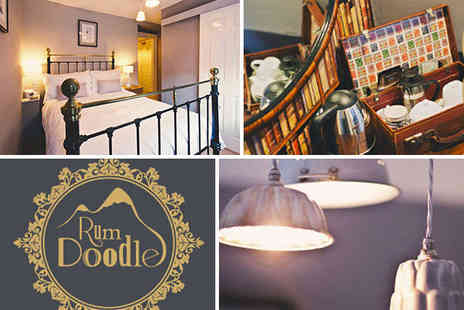 Rum Doodle - Two Night Stay for Two People with Daily Full English Breakfast - Save 49%