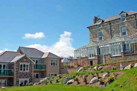 Porth Veor Manor Hotel - Cornish Getaway with three Course Dinner & Upgrade - Save 53%