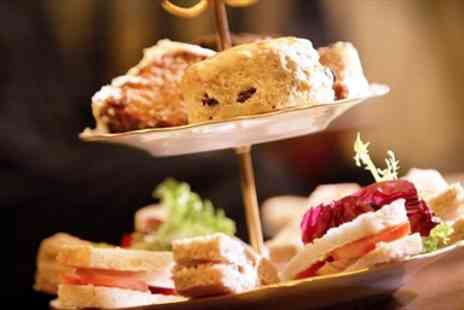City Cafe - Afternoon Tea & Bottle of Bubbly for Two - Save 62%