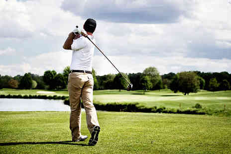 Sandown Park Golf Centre - 18 Holes of Golf with Lunch and Use of Driving Range for Two - Save 55%