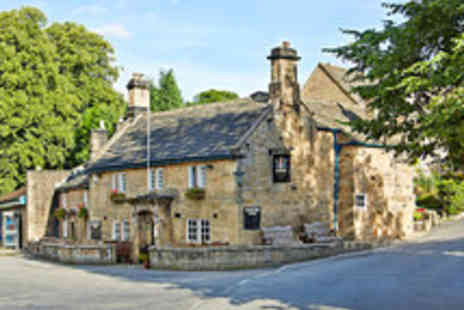 The Devonshire Arms - Romantic Derbyshire Stay with Champagne - Save 40%