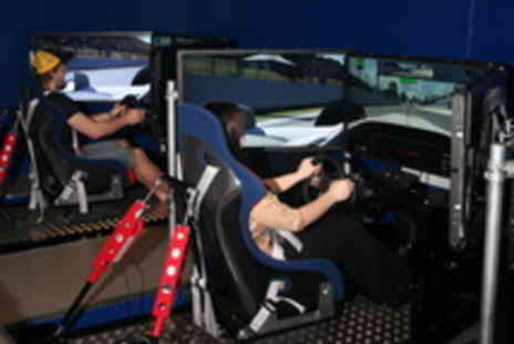 Bodyflight - Couples Simulator Race and Spa Experience for Two People - Save 30%