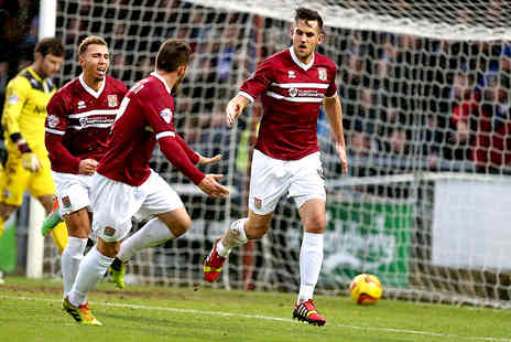 Northampton Town Football Club - Adult or Family Match Tickets for Northampton Town v AFC Wimbledon - Save 47%