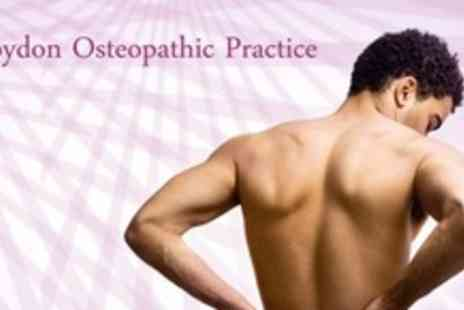 Croydon Osteopathic Practice - Foot Assessment and Prescription Orthotics Insole Plus Spinal Assessment - Save 60%