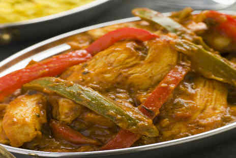 The Raj - Delicious Six Course Indian Feast for two  - Save 50%