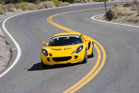 Supercar Sessions - Three laps in a choice of Lotus - Save 86%