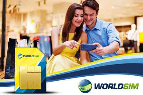 World Sim - Worldwide Travel SIM Card - Save 67%