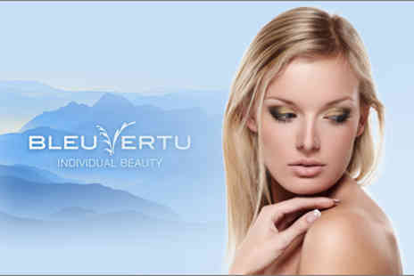 Bleu Vertu - Soothing facial and back, neck and shoulder massage, plus a file and polish - Save 76%