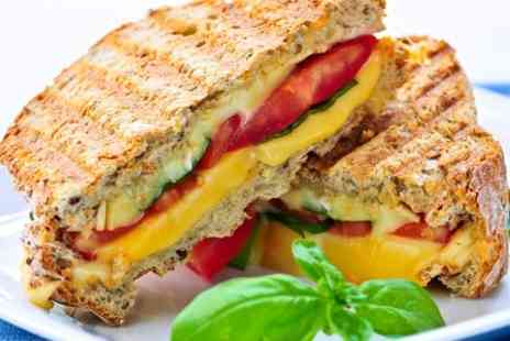 Lucys Coffee House - Toastie Drink and Cake For Two - Save 53%