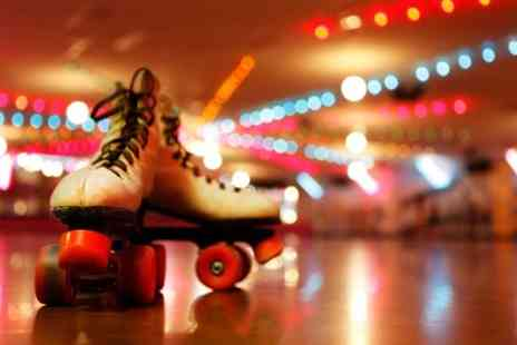 Skate City - Roller Skating Session For Family of Four - Save 60%