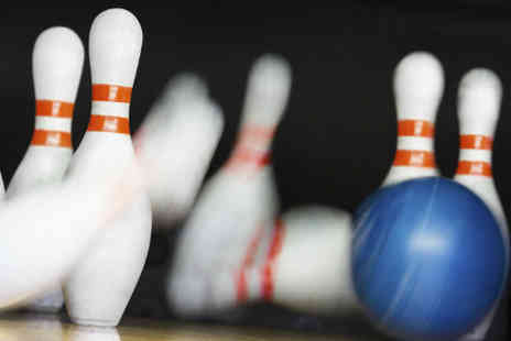 Cumbria Bowling - Two games of bowling each and the choice of a hotdog - Save 56%