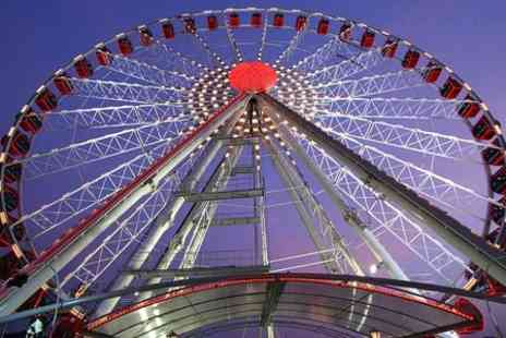 Wheels Entertainment - 15 minute ride on 60m high city centre wheel - Save 57%