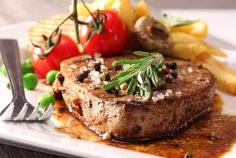 Cafe Bruxelles - Two Course Meal For Two - Save 49%